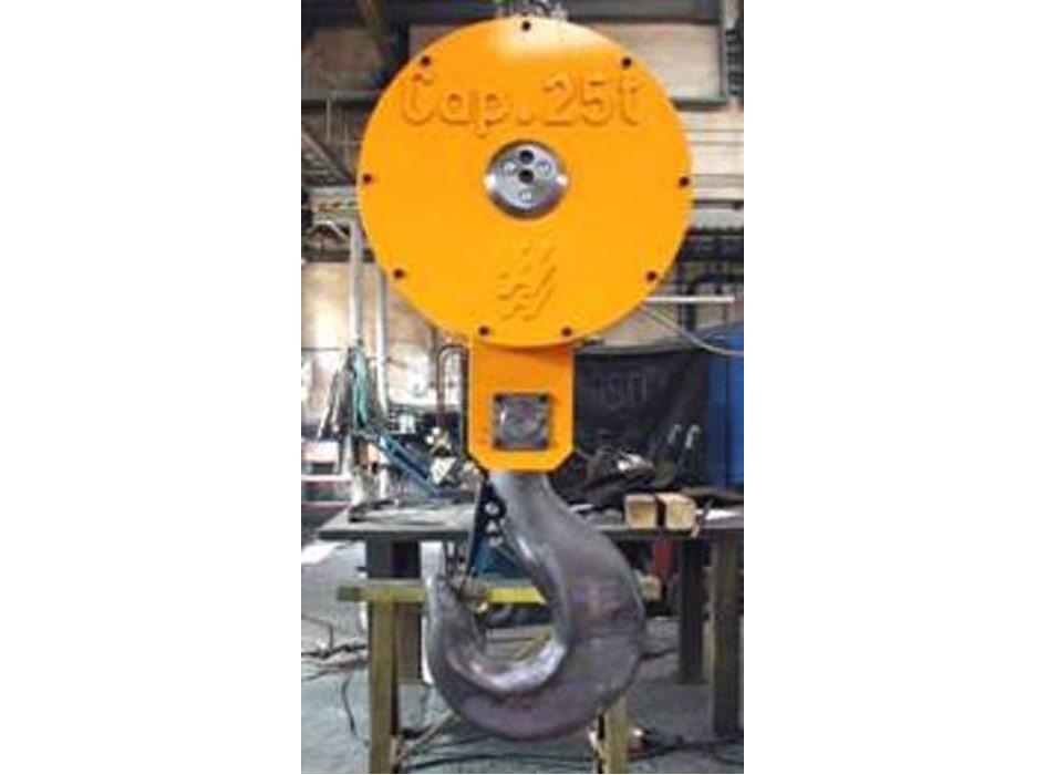 Heppenstall technology ag for Motorized rotating crane hook