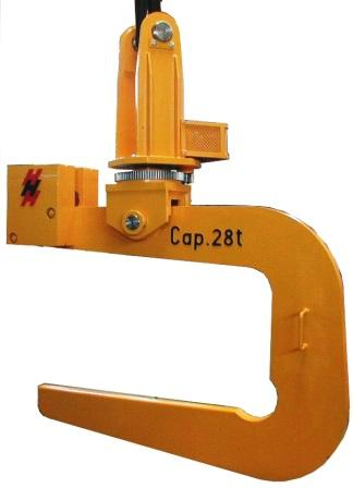 C hooks for Motorized rotating crane hook