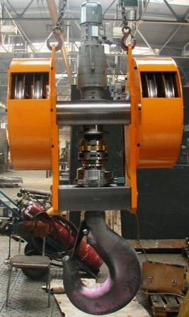 Motorized Crane Hook Cap.35t