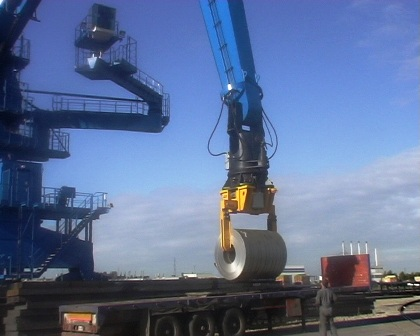 material handling at harbours